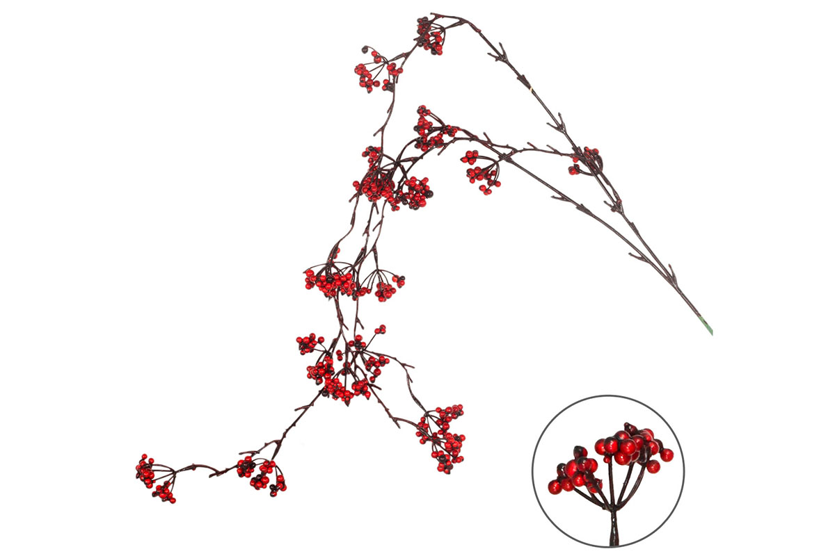 Větvička vánoční, umělá dekorace