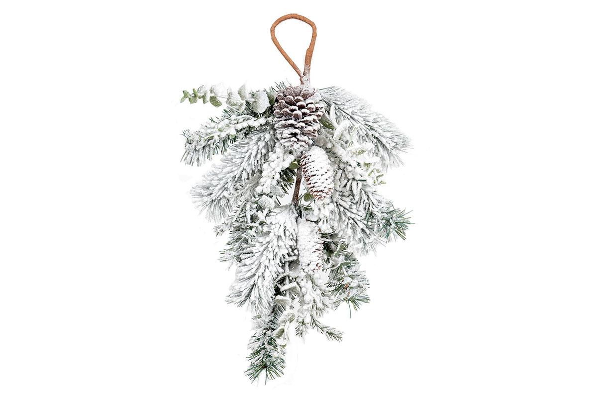 Umelá vetvička, vianočná dekorácia