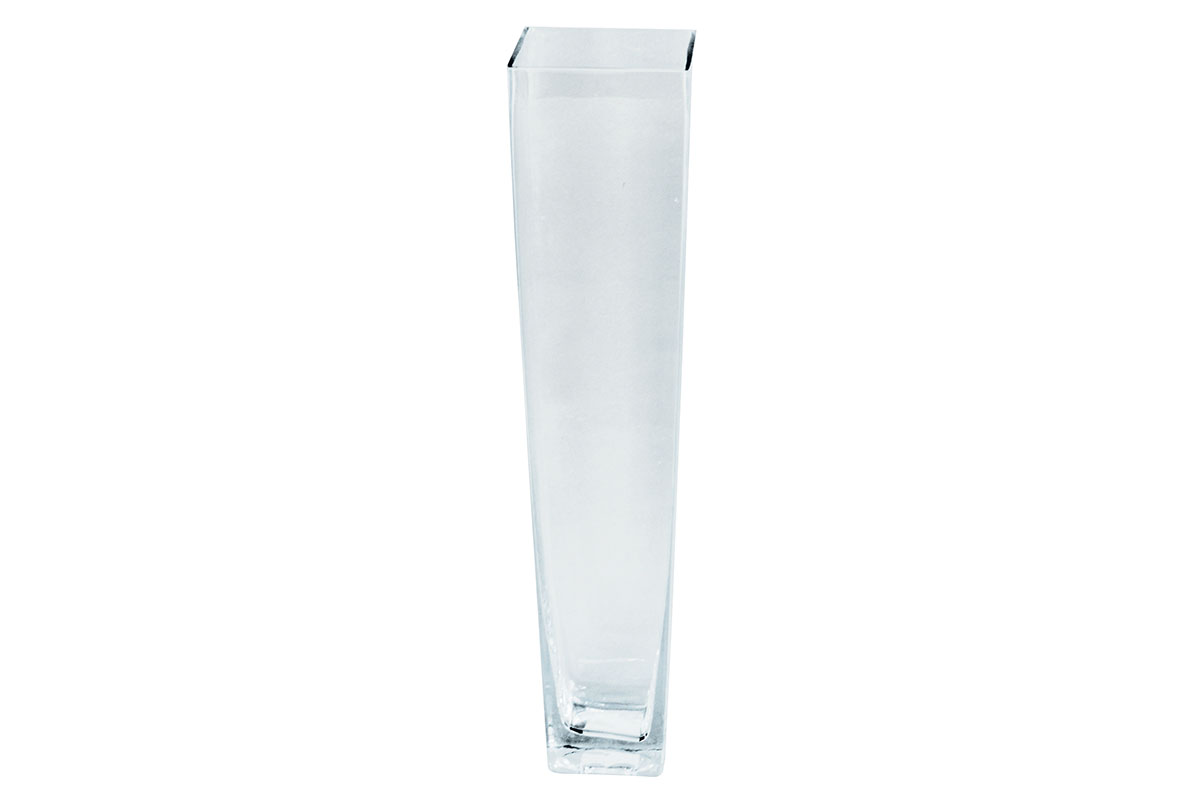 Váza skleněná čirá