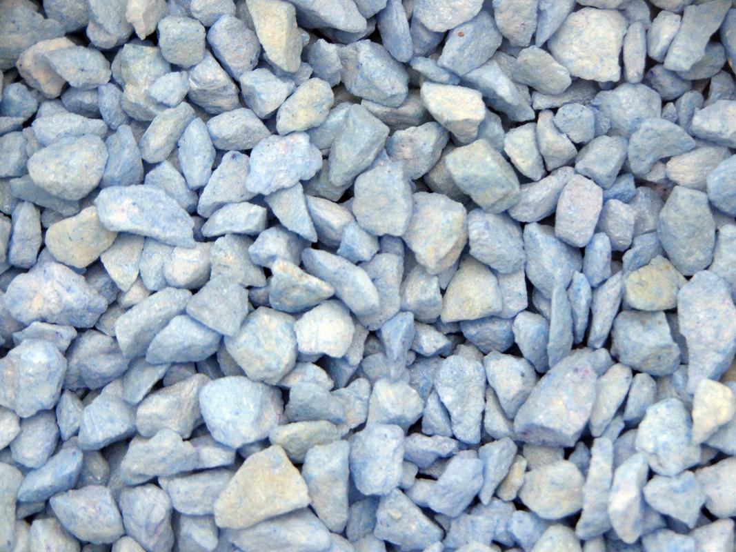 Dekoračný piesok, 3 druhy, modrá farba
