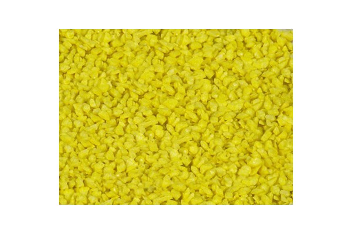 DEKORAČNÝ PIESOK, stredná veľkosť, žltá farba