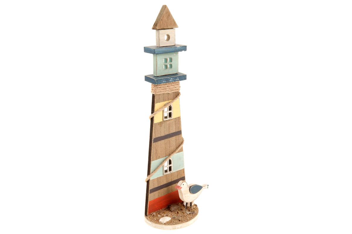 Maják, dřevěná dekorace