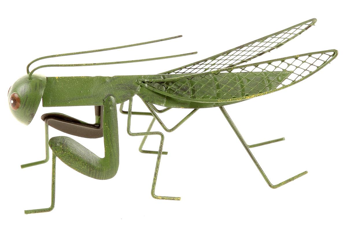 Lúčny koník, kovová dekorácia