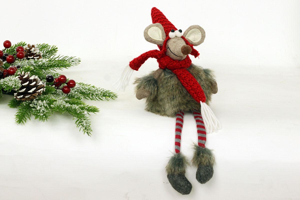 Myš, textilná dekorácia