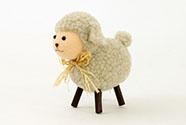 Ovečka, plyšová dekorace