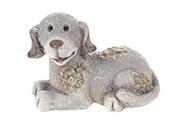 Pes, keramická dekorace
