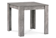 Jídelní stůl 80x80x74 cm, MDF, lamino dekor beton