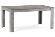 Jídelní stůl 160x90x74 cm, MDF, lamino dekor beton