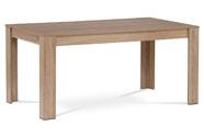 Jídelní stůl 160x90x74 cm, MDF, lamino 3D dekor dub sonoma