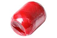 Stuha vázací jednobarevná - červená 30m