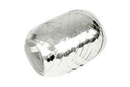 Stuha vázací metal 20m, barva stříbrná