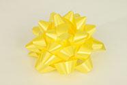 Rosetka samolepící velká, barva žlutá
