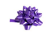 Rosetka samolepící malá, barva fialová