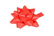 Rosetka samolepící malá, barva červená