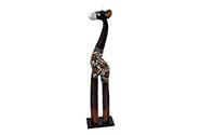 Dřevořezba - žirafa černá