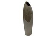 Váza keramická barva šedo-hnědá