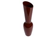 Váza keramická hnědá