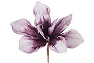 Květina umělá pěnová. Barva vínová