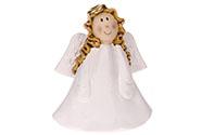 Andělíček, keramická dekorace na postavení.