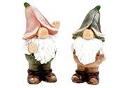 Zvonečkoví skřítci. Keramická dekorace. Mix 2 druhů. Cena za 1ks.