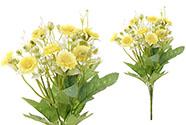 Sedmikrásky, puget, barva žlutá. Květina umělá.