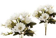 Kapské kopretiny, puget, barva smetanová. Květina umělá.