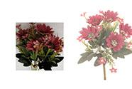 Kapské kopretiny, puget, barva tmavě růžová. Květina umělá.