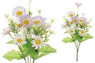 Heřmánek, puget, barva smetanovo-lila. Květina umělá.