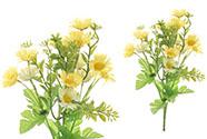 Heřmánek,, puget, barva žlutá. Květina umělá.