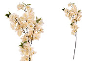 Třešňové květy, barva smetanovo-meruňková. Květina umělá.