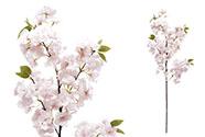 Třešňové květy, barva bílo-růžová.Květina umělá.