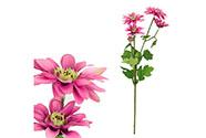 Kopretina, barva lila. Květina umělá.