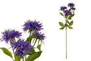 Astra, barva modrá. Květina umělá.