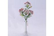 Květina umělá plastová. Mix 4 barev