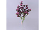 Jetel,puget,  mix 4 barev. Květina umělá plastová