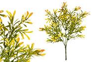 Buxus barva oranžová. Květina umělá plastová