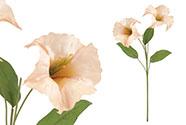 Durman, barva oranžová. Květina umělá.