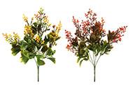 Kalanchoe, mix 2 druhů. Květina umělá plastová