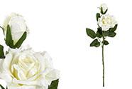 Růže, barva krémová. Květina umělá.