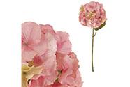 Hortenzie, barva růžová. Květina umělá.