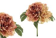 Hortenzie, puget z umělých květin, barva růžová