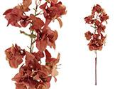 Bugenvilie,umělá květina,barva hnědá.