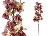 Bugenvilie,umělá květina,barva fialová.