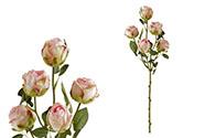 Růže, umělá květina, barva růžová