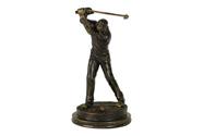 Golfista - polyresin
