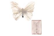 Motýl s klipem, cena za  3 kusy v krabičce