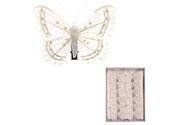 Motýl s klipem, cena za 12 kusů v krabičce