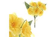 Narcis, barva žlutá, květina umělá.