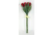 Tulipány puget - plastové dekorační květiny.
