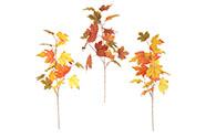 Větvička podzimní. Mix 3 druhů. Květina umělá.